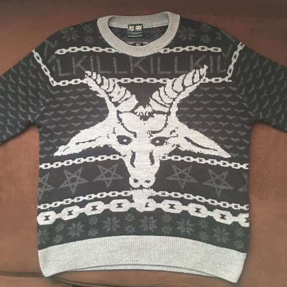 killstar knit 666 christmas sweater discontinued